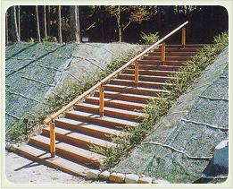 (写真)公園・階段