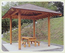 (写真)兵庫県三木市 三木ホースランド 木柵