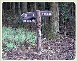 (写真)サイン・道標