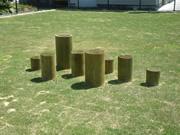児童公園の遊具部材用