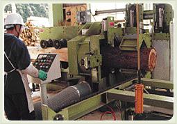 写真:自動丸棒加工機(円柱・ロータリー加工機)直径8cm~30cm(80 mm ~300 mm)