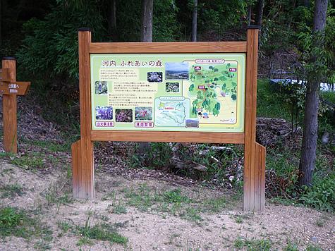 (写真)兵庫県加西市 ハイキング道案内板