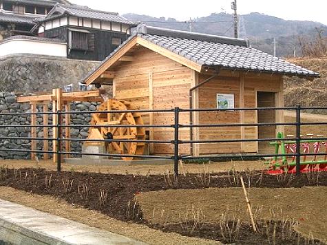 (写真)兵庫県洲本市 水車小屋
