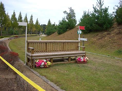 (写真)兵庫県三木ホースランドパーク 総合馬術 (野外騎乗・クロスカントリー)