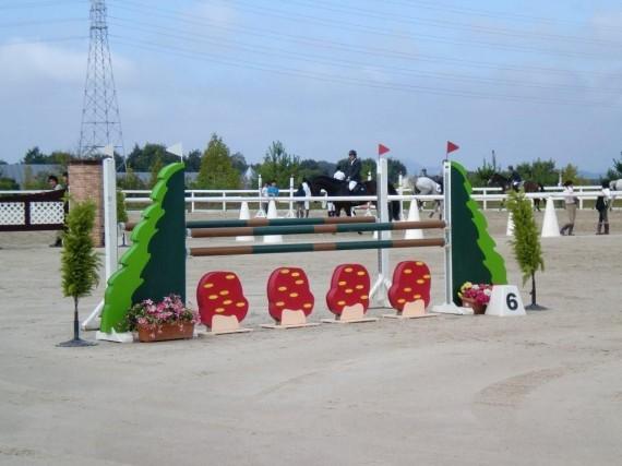 馬事資材・飛越障害 施工実績 (競技使用事例)