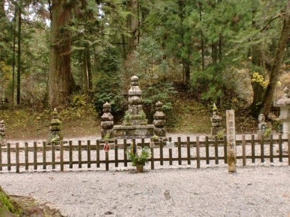 豊臣秀吉の墓碑