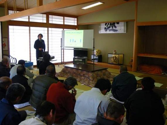 「山の神様」当日に開催された労働基準監督署の「安全講習会」
