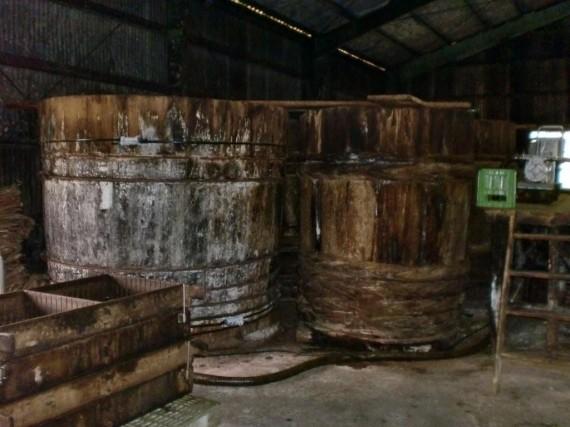 年期の入った木桶