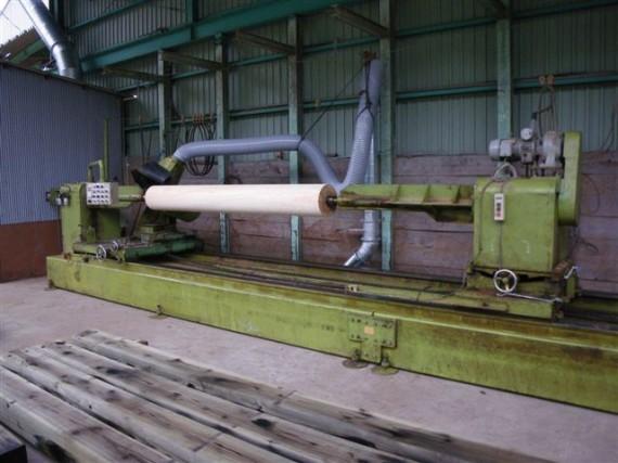丸棒・円柱加工機(特大・特殊加工型)   (右側から)