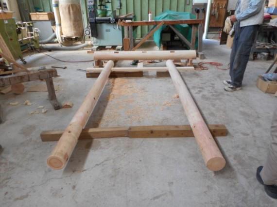 「木製鳥居」を製作・販売し、設置しました