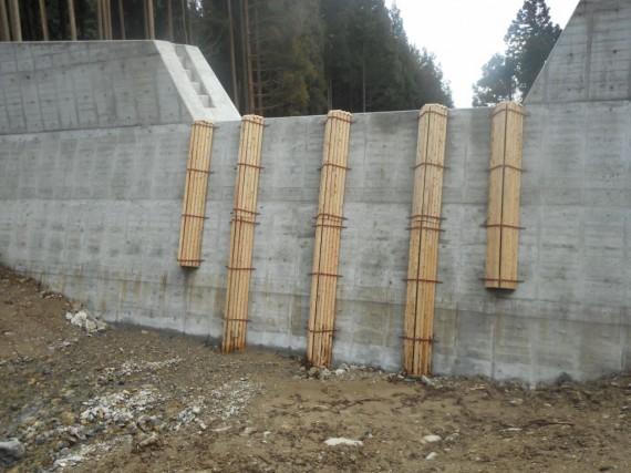 「治山ダム」用の 「水抜き閉塞防止工」 も作っています