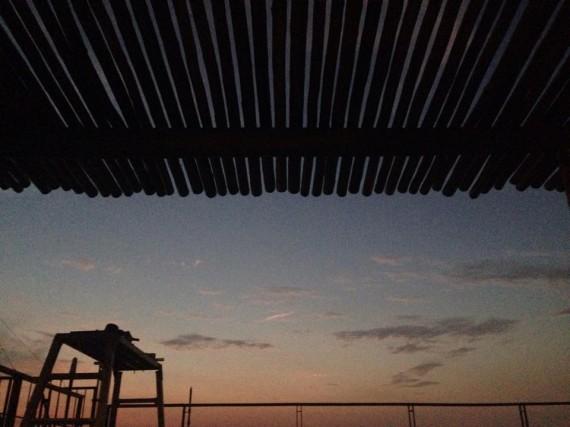 ベイサイドマリーナ・リノベーション工事 (夕焼けがきれいです)