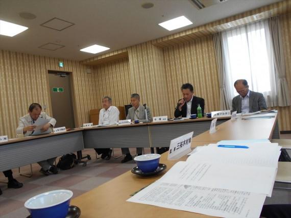 兵庫県木連 県産材供給部会・役員会の様子